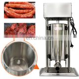 3L electrc Stainless steel Vertical Commercial Sausage Stuffer Filler Machine