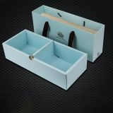 Rigid large cardboard safe drawer type gift box