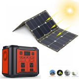 Solar Power Bank Portable Generator 300W AC/DC Solar Energy System Kit