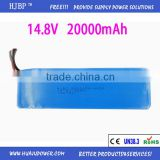 14.8 V 20000 mAh LP9059156-4s2p Polymer lithium battery