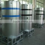 Cylindrical stainless steel painting ink storage IBC tank container