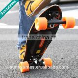 Wholesale price cheap electric longboards evolve complete single motor 4 wheel skateboards