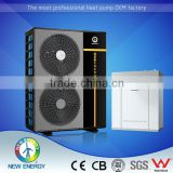 Cold climate new design inverter split floor film heater