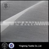 China Supplier 100% Polyester 20D*100D Double Lines Texture Organza Fabric for Women's Fashion Garments