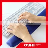 hot sale laptop keyboard pad custom gel wrist rest keyboard pad gel computer keyboard pad