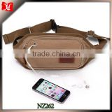 Casual Fashion Cross Body for hiking bag Men's Chest Packs With Earphone Hole