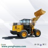 China supplier Construction machine mini wheel loader skid steer backhoe loader cheap compact tractor for sale