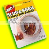 Custom Adhesive Serrated Slug & Snail Copper Tape / Copper Slug Tapes