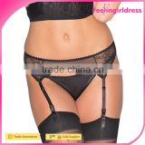 Sexy Lace Customized 2016 wholesale YIWU Cheap Hot Sale Latest Designs Plus Size Garter Belt