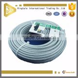 12mm nylon coated stainless steel thin wire rope 7*19 10mm