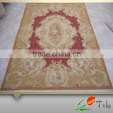 Aubusson Hand Made Wool Rugs In Stocks Hand Weave Aubusson Wool Rug For Home, Hotel, Villa Use