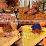 Handmade luxurious Bedspreads,Embroidered in Indian bohemian tribal designs Bedding at discount prices
