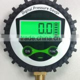 3V battery supply 0-750Psi digital air pressure gauge for tyre with LCD display