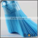Blue pp brush fiber made from virgin plastic chips comply with Rohs and Pahs safety regulations