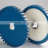 Silver welded stone milling wheels