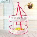 layer drying basket ,nylon mesh basket,hanging dry rack for cloth and toys