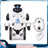 Multifunctional R/C robot toy made in China, 2.4GHz radio controlled intelligent robot with LED lights