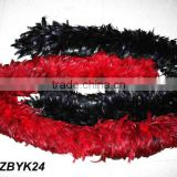 Full Fluffy coque feather Boa LZBYK24
