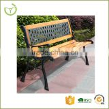 All weather suitable high quality outdoor KD garden wooden long bench chair/studry durable wooden bench