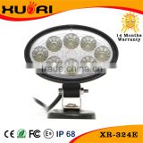 24W Heavy Duty High Powered LED Work Light, For ATV, UTV, 4X4, Truck, Jeep, Hummer, Boat, Tractor