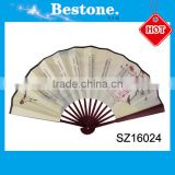Professional Custom Logo Printing Folding Paper Hand Fan