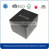 Gift & Craft Industrial Use and Paper Material paper watch box with insert                                                                                                         Supplier's Choice