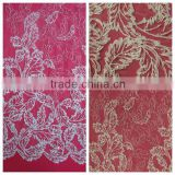 Fashion Embroidery Fabric With Beads For Fashion Garment And Bridal Dress