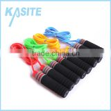 5.5mm*2.7M hot sale PVC rope jumping ,PP handle with coloful foam