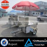 CEhot dog cart bike mobile hot dog cart for sale bike hot dog trailer