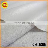 Cotton/polyester french terry fabric with PU/TPU/PVC coated