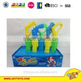 Hot sale plastic 32cm water pump toy for kids,colorful plastic hand water pump,summer water gun toy