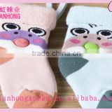 newest fashion wholesale cartoon pattern knitted baby thick winter socks