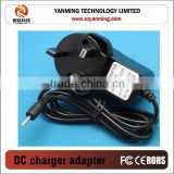 ac/dc adapter home wall charger /adapter 18W with UK/USA/AUS/European Plug Laptop Usb Charger