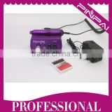 Professional Purple Color electric acrylic nail art machine