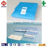 Medical disposable sterile dressing packs