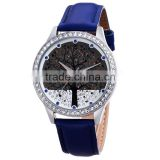 skone 9195 bling crystal tree dial sexy ladies watches