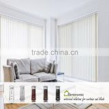 Bintronic Smart Home Products Electric Vertical Blinds Motors With Tracks And Vertical Blind Components Taiwan