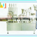 2014 newest piston milk yoghurt production machine(bottler filler)