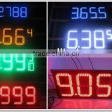 27 inches Waterproof LED Digital Display led oil price display