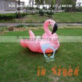 2016 New Arrival 1.2m Pink Giant Inflatable Flamingo Pool Float for Kid