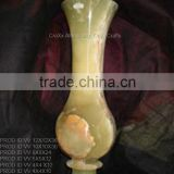 Multi Green Onyx Vase in discounted price