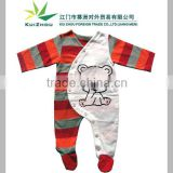 100% Cotton Long Sleeve Romper Babywear