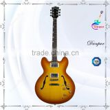 gorgeous semi hollow body electric guitar