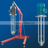 CE hot sale shampoo Pneumatic Fix-type vertical agitator mixer