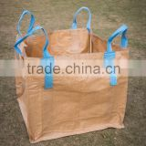 High quality strong capacity food grade SINGAPORE jumbo bag for salt with liner and printing