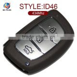 2014 Car Key for Hyundai Verna 3 button smart remote key control 434mhz with ID46 transponder chip AK020001