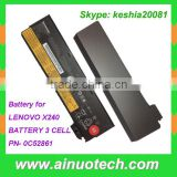 for LENOVO T440s T440 X250 T450S X260 X200 X201 X220 X240 laptop battery 3 CELL rechargeable lithium battery PN- 0C52861