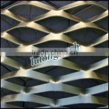 Free samples Aluminum composite panel Aluminum wire mesh Aluminum strip ceiling Wall decorations