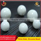 Hot sale white polished ceramic zirconia beads for grinding and milling