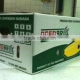 Corrugated B flute banana packaging paper box with cheap price